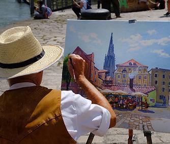 Stadtmaler Werner Steib