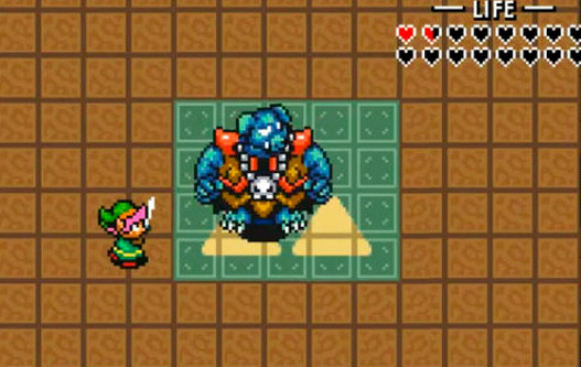 Ganon in the game A Link to the Past