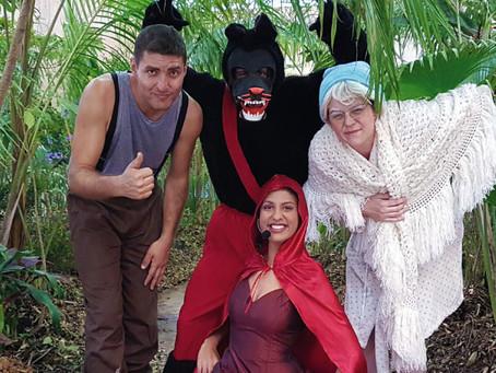 Chapeuzinho Vermelho da Techniatto foi destaque no Domingo no Parque