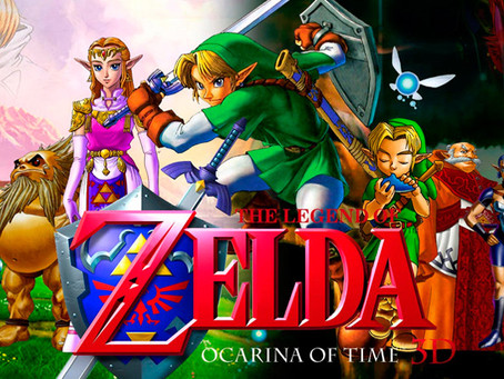 RESENHA: The Legend of Zelda: Ocarina of Time (N64, GCN, 3DS)
