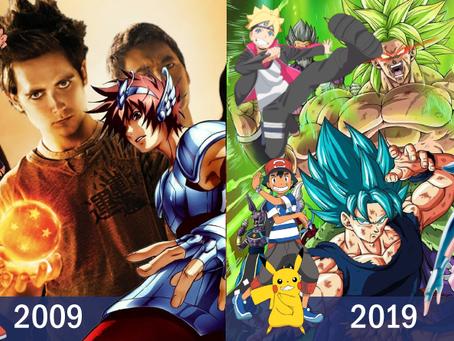 Desafio dos 10 anos: as mudanças de Dragon Ball, Os Cavaleiros do Zodíaco, Naruto e Pokémon