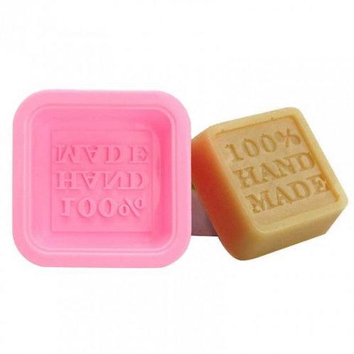 """Moule à savon carré """"HOME MADE"""" en silicone"""