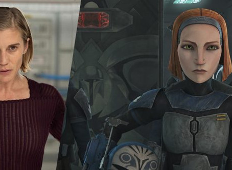 Katee Sackhoff irá interpretar a personagem Bo-Katan em Live Action de Star Wars