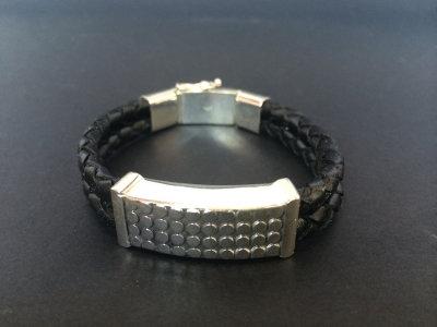 Dotted Sterling Silver Bracelet