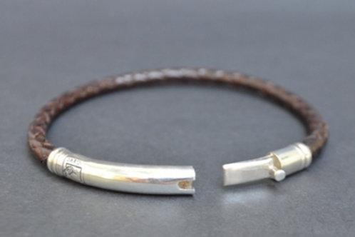 Sterling Silver Thin Tube Bracelet