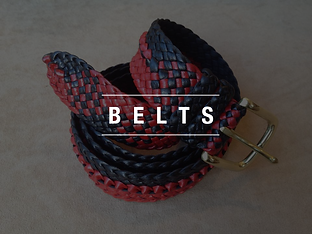 Kangaroo Leather Belts