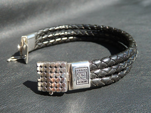 3 Strand Bracelet with Stainless Steel Clasp