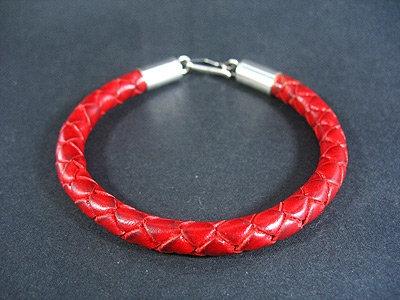 Bracelet with sterling silver endings