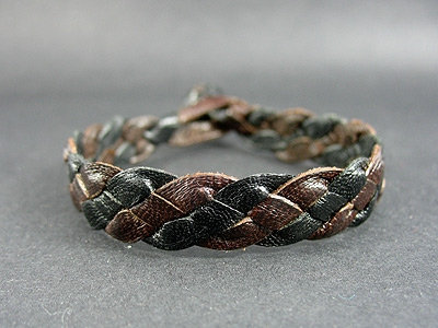 Flat Bracelet with Turk's Head Knot