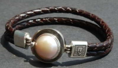 Mabe Pearl set in Sterling Silver