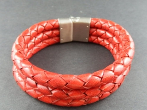 Leather Three Cord Bracelet