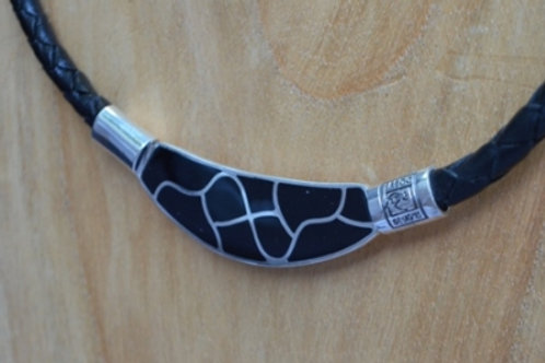 Onyx Sterling Silver Necklace