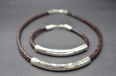 Brown Sterling SIlver Fine Cut Gift Set