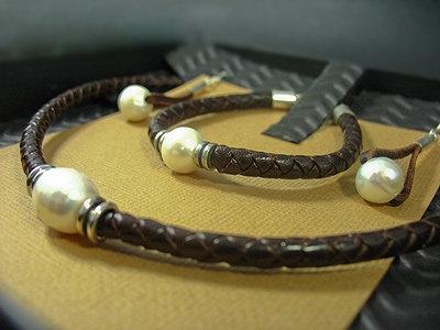 Necklace, Bracelet & Earrings Gift Set, Brown