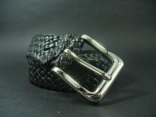 Kangaroo Leather belt with Steel Buckle