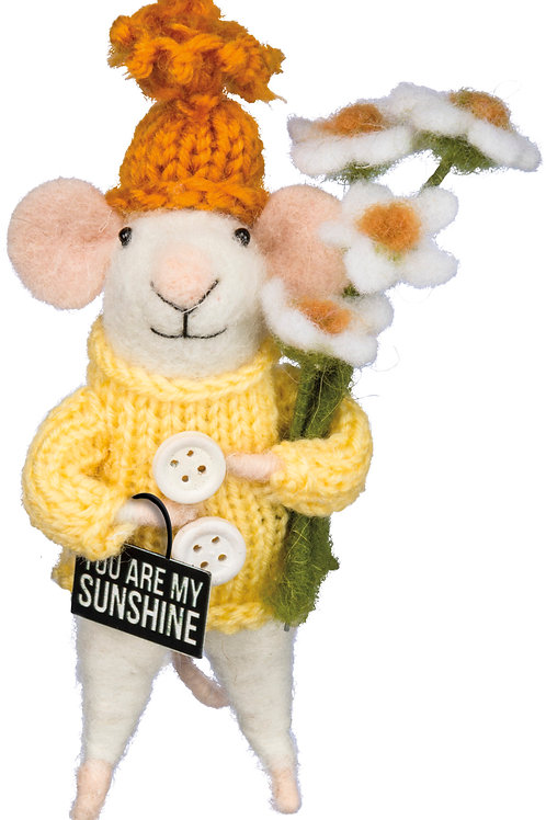 You are my Sunshine Mouse Ornament