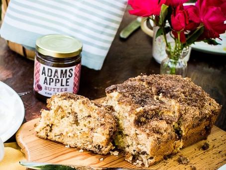 Adams Apple Crunchy Cinnamon Bread