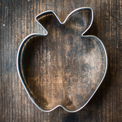 Apple Cookie and Biscuit Cutter