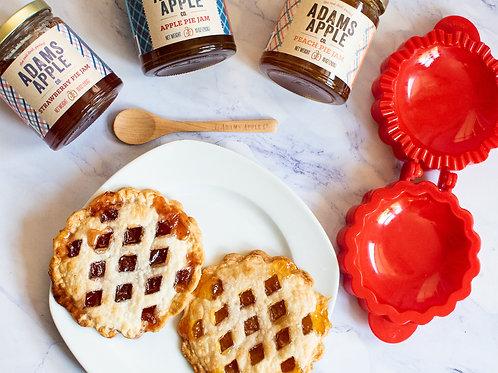 Jam Tree-O with Mini Lattice Pie Mold
