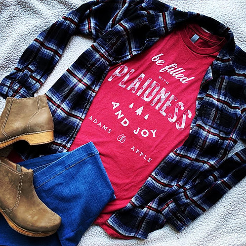 Be Filled with Plaidness and Joy