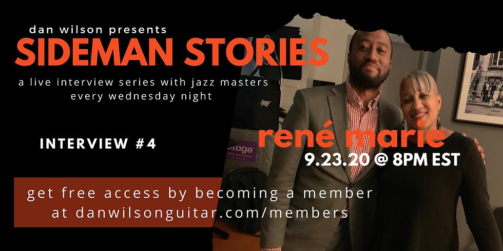 Interview #4: René Marie