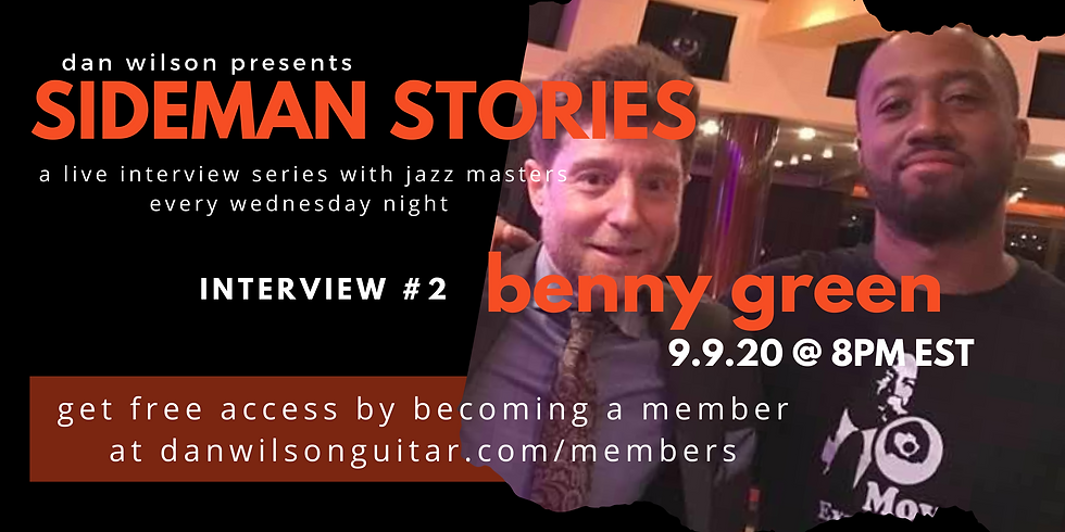 Interview #2: Benny Green