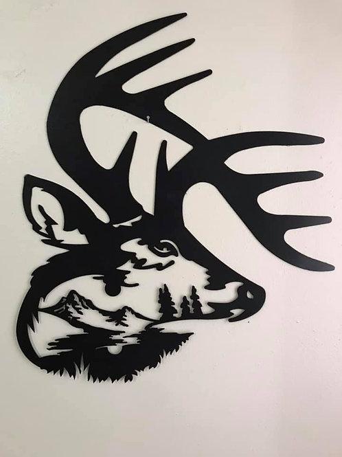 Deer Antler Scene