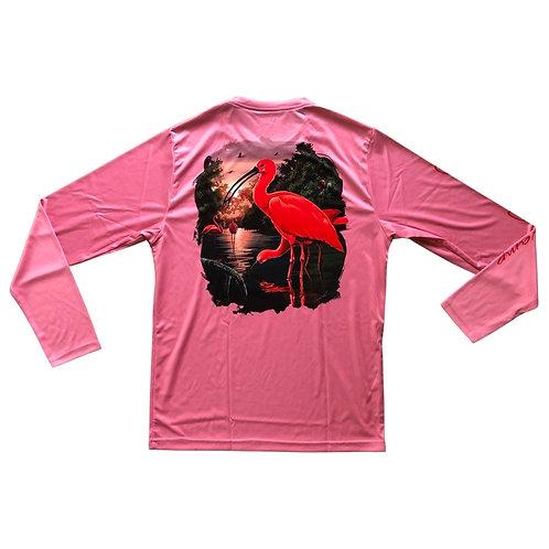 Scarlet Ibis Long Sleeve