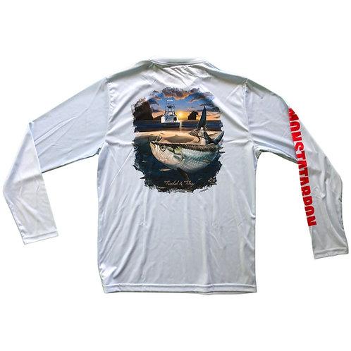 Tarpon Sunrise Long Sleeve Shirt