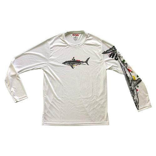 Rasta Shark Long Sleeve