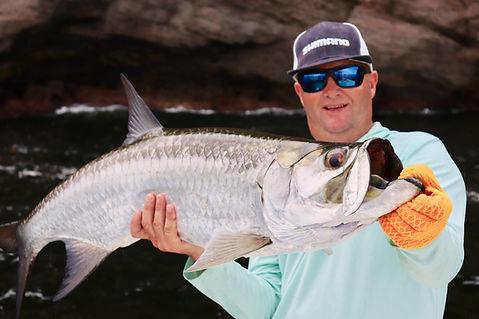 Tarpon Fishing in Trinidad - Sport Fishi