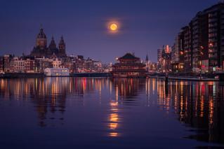 Reflecting Moon