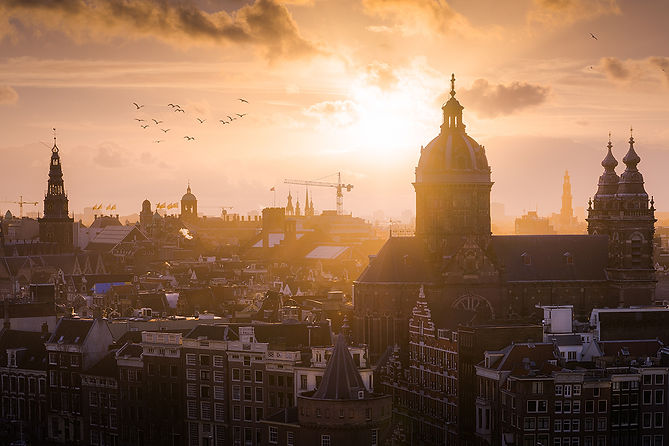 Amsterdam by Albert Dros