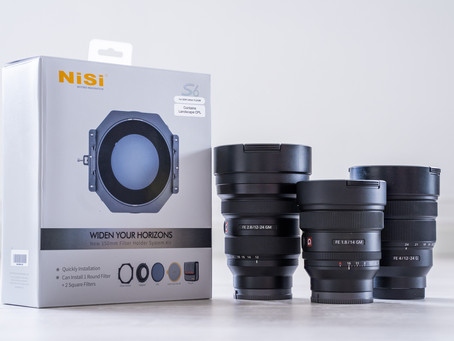 Nisi S6 holders for Ultra Wide Angle Lenses