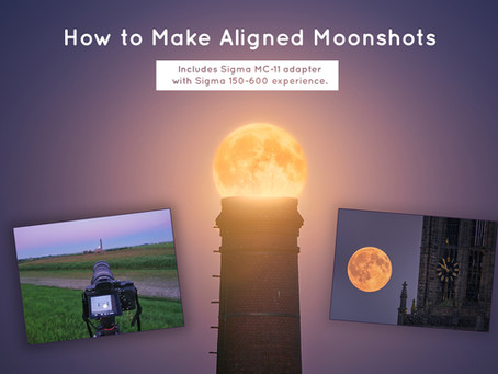 How To Make Aligned Moonshots. Includes Sigma MC-11 adapter & Sigma 150-600 experience.