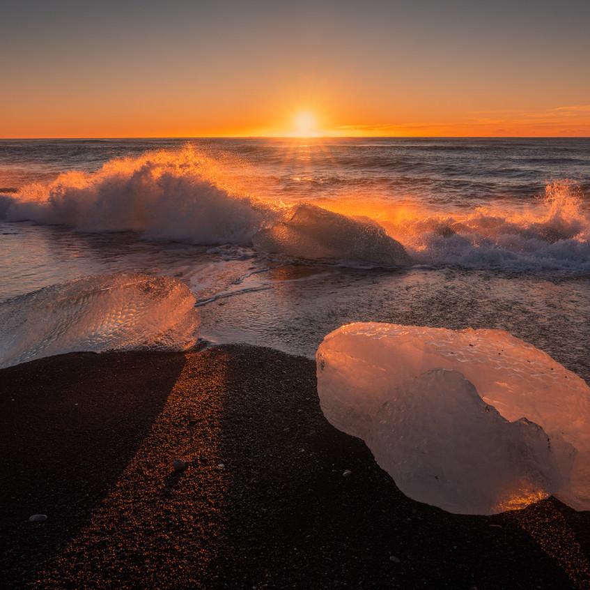 Golden Ice Beach