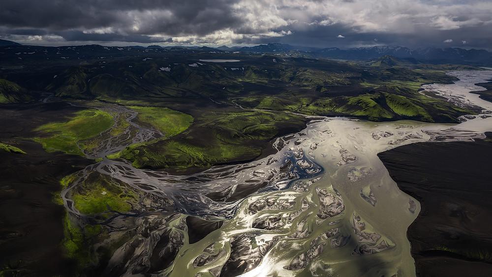 Iceland Aerial Series by Albert Dros & Serena Ho