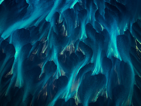 Icelanding Paintings from the sky