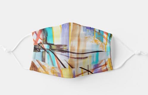 Caribbean Flair Face Mask