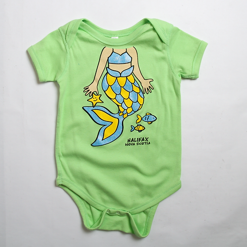 Mermaid Green Onesie