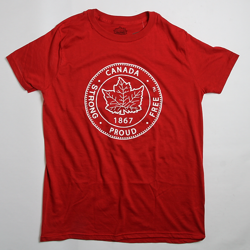Canada Strong, Proud & Free T-Shirt