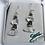 Thumbnail: Glacier Pearle Earrings -Emerald Ice
