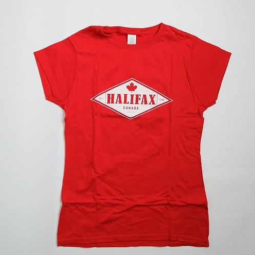 Halifax Maple Leaf Ladies Tee