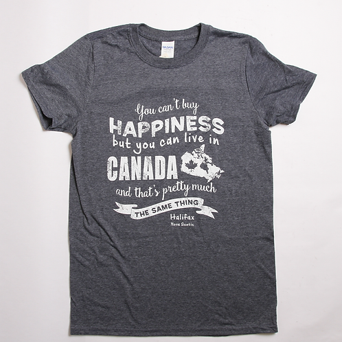 Happiness Canada Navy Tee