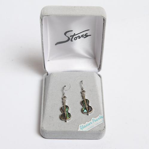 Glacier Pearle Earrings -Fiddles