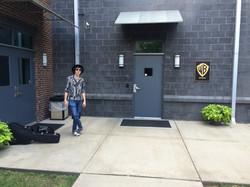 At Warner Bros Studio