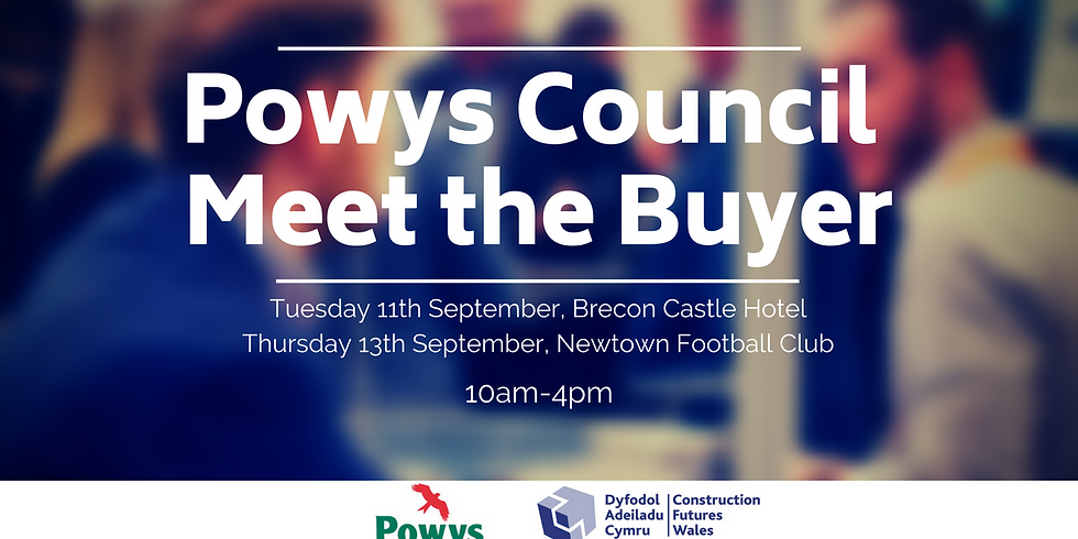 Powys Meet The Buyer Event