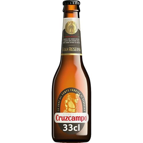 CRUZCAMPO 1/3 GRAN RESERVA N.R.C/24