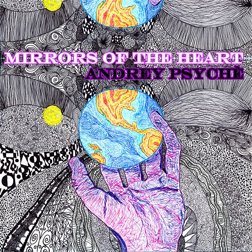"""Mirrors of the Heart"" CD in Jacket"