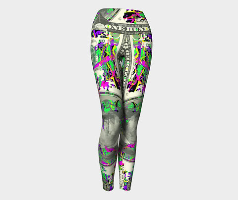 Green with Envy Yoga Pants